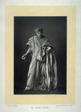 Sir Henry Irving as Cardinal Wolsey in Shakespeare's Henry VIII