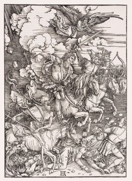 The Four Horsemen, fourth plate from the series The Apocalypse