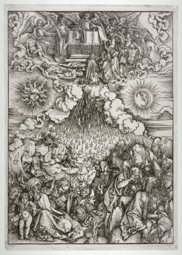 The Opening of the Fifth and Sixth Seals (The Falling of the Stars), sixth plate from the series The Apocalypse