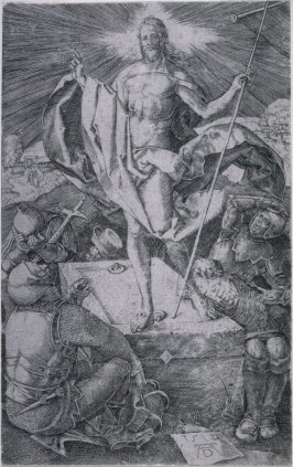Resurrection, fifteenth plate from the Engraved Passion