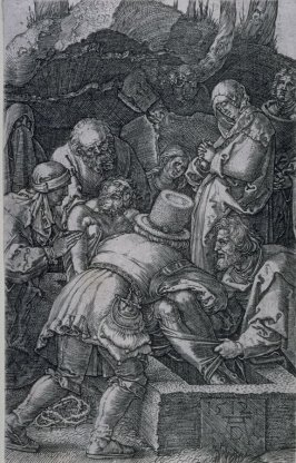 Entombment of Christ, thirteenth plate from the Engraved Passion
