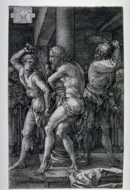 Flagellation, sixth plate from the Engraved Passion