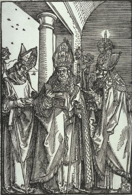 Saints Nicholas, Ulrich and Erasmus