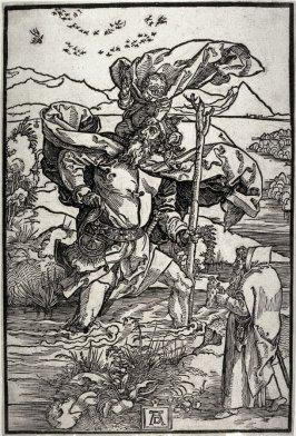 St. Christopher with the Flight of Birds