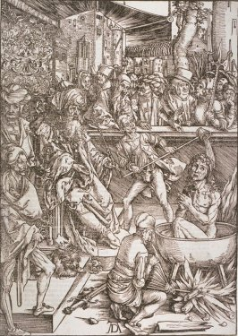 The Martyrdom of St. John, second plate from the series The Apocalypse