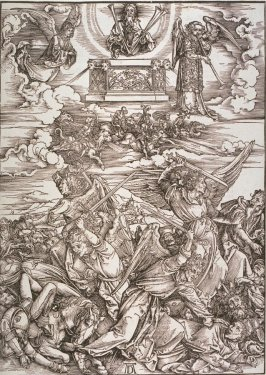 The Four Avenging Angels, eigth plate from the series The Apocalypse
