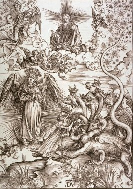 The Apocalyptic Woman, St. John Devouring the Book, eleventh plate from the series The Apocalypse