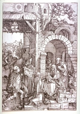 The Adoration of the Magi, twelfth plate from the series The Life of the Virgin