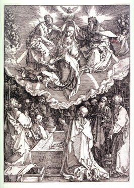 The Coronation of the Virgin Mary, nineteenth plate from the series The Life of the Virgin