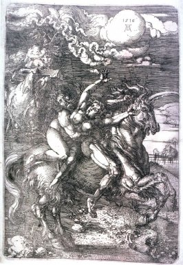 The Abduction of Proserpine on a Unicorn