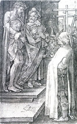 Ecce Homo, eighth plate from the Engraved Passion