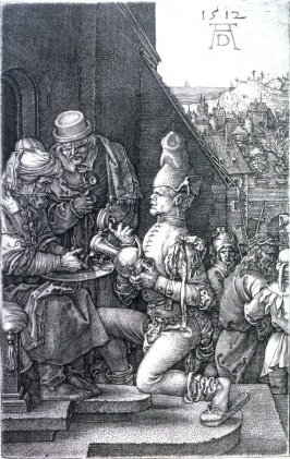 Pilate Washing His Hands, ninth plate from the Engraved Passion