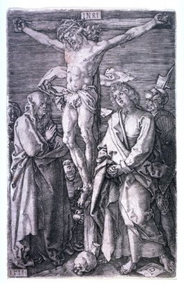 Christ on the Cross, eleventh plate from the Engraved Passion