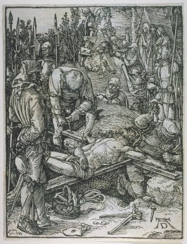 Christ Nailed to the Cross, twenty-fourth plate in the series, The Little Passion