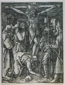 The Crucifixion, twenty-fifth plate in the series, The Little Passion