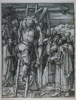 The Descent from the Cross, twenty-seventh plate in the series, The Little Passion