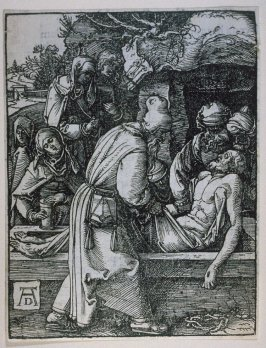 The Deposition, twenty-ninth plate in the series, The Little Passion