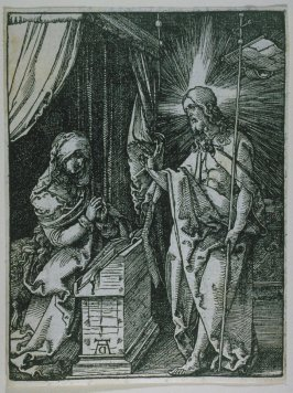 Christ Appearing to His Mother, thirty-first plate in the series, The Little Passion