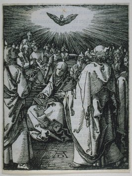 Pentecost, thirty-sixth plate in the series, The Little Passion