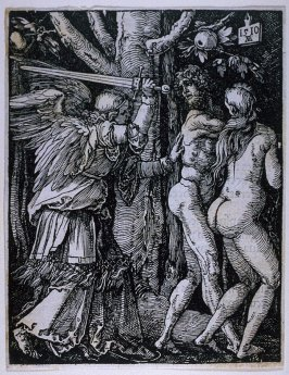 The Expulsion from Paradise, third plate in the series, The Little Passion