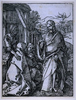Christ Taking Leave from His Mother, eighth plate in the series, The Little Passion