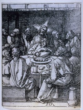 The Last Supper, ninth plate in the series, The Little Passion