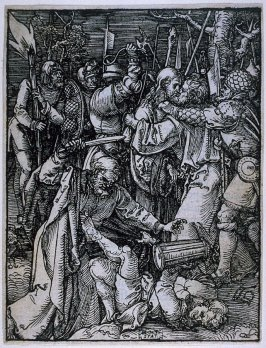 The Kiss of Judas (Betrayal of Christ), twelfth plate in the series, The Little Passion