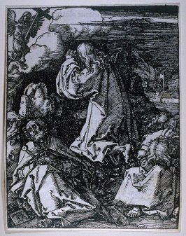Christ on the Mount of Olives, eleventh plate in the series, The Little Passion