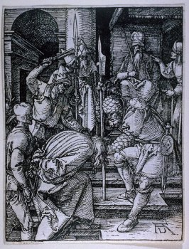Christ before Annas, thirteenth plate in the series, The Little Passion