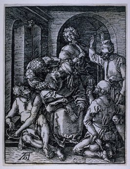 The Mocking of Christ, fifteenth plate in the series, The Little Passion