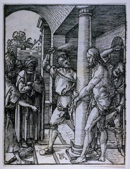 The Flagellation, eighteenth plate in the series, The Little Passion