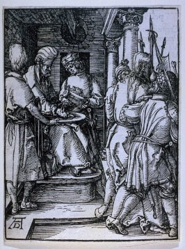 Pilate Washing His Hands, twenty-first plate in the series, The Little Passion