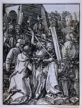 Christ Carrying the Cross, twenty-second plate in the series, The Little Passion