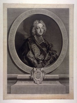 Balthazar Henri de Fourcy, Abbott of Saint-Wandrille