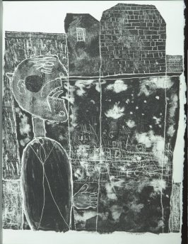 Untitled, chapt. 3, in the book Les Murs (The Wall) by Guillevic (Paris: Edition du Livre, 1950).
