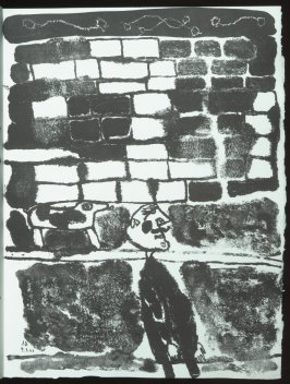 Untitled, chapt. 6, in the book Les Murs (The Wall) by Guillevic (Paris: Edition du Livre, 1950).