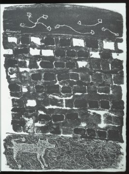 Untitled, chapt. 10, in the book Les Murs (The Wall) by Guillevic (Paris: Edition du Livre, 1950).