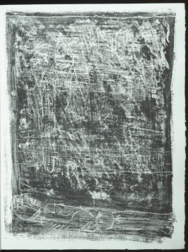 Untitled, chapt. 11, in the book Les Murs (The Wall) by Guillevic (Paris: Edition du Livre, 1950).