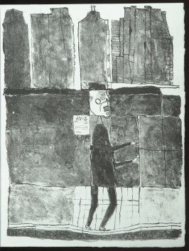 Untitled, chapt. 12, in the book Les Murs (The Wall) by Guillevic (Paris: Edition du Livre, 1950).