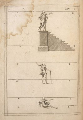 Plate 1 in the book Leçons de perspective positive (Paris: Mamert Patisson, 1576)