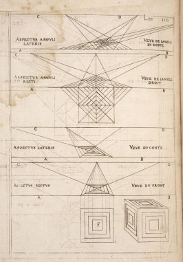 Plate 4 in the book Leçons de perspective positive (Paris: Mamert Patisson, 1576)