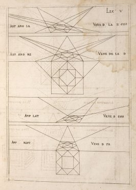 Plate 5 in the book Leçons de perspective positive (Paris: Mamert Patisson, 1576)