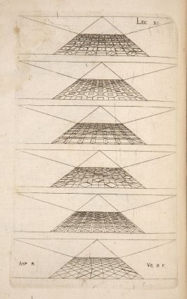 Plate 11 in the book Leçons de perspective positive (Paris: Mamert Patisson, 1576)