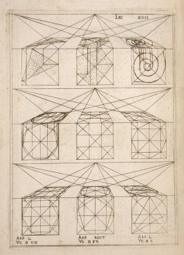 Plate 14 in the book Leçons de perspective positive (Paris: Mamert Patisson, 1576)