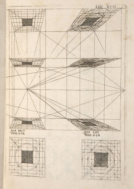 Plate 17 in the book Leçons de perspective positive (Paris: Mamert Patisson, 1576)