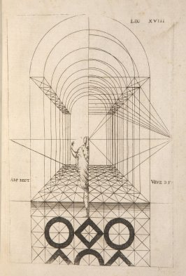 Plate 18 in the book Leçons de perspective positive (Paris: Mamert Patisson, 1576)