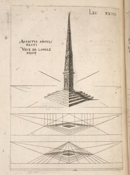 Plate 24 in the book Leçons de perspective positive (Paris: Mamert Patisson, 1576)