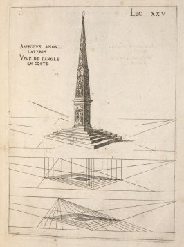 Plate 25 in the book Leçons de perspective positive (Paris: Mamert Patisson, 1576)