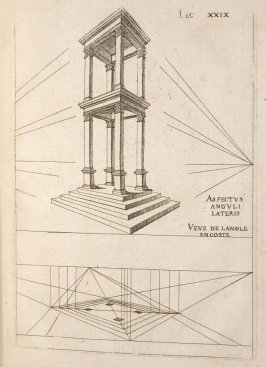 Plate 29 in the book Leçons de perspective positive (Paris: Mamert Patisson, 1576)