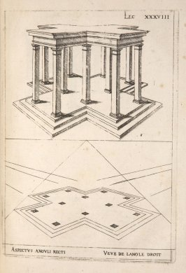 Plate 38 in the book Leçons de perspective positive (Paris: Mamert Patisson, 1576)